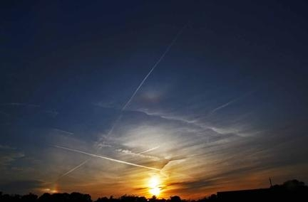 MVCrow Sky UTArc, sun dogs and halo sm 5th June 2014