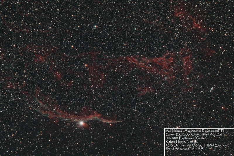 Veil Nebula David Sheehan