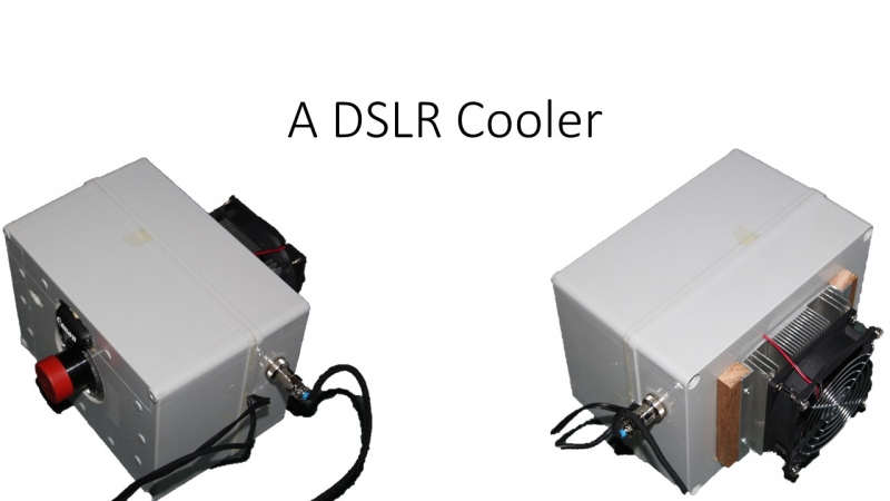DSLR Cooler box