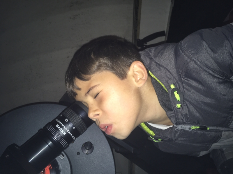 A Child from Sutton-at-Hone Enjoying Astronomy- parental Permissing given#10