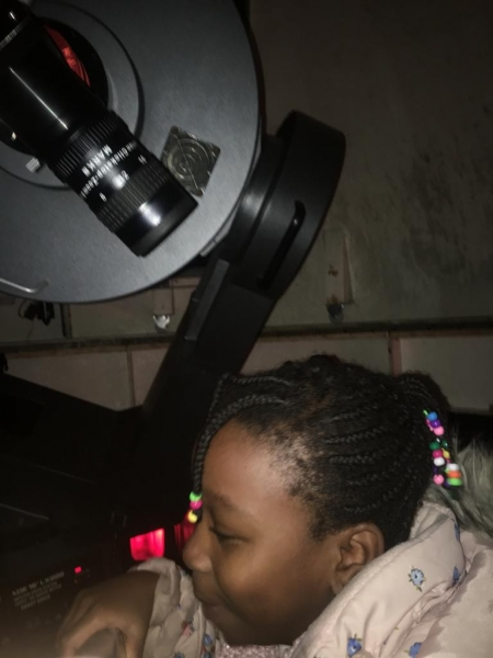 A Child from Sutton-at-Hone Enjoying Astronomy- parental Permissing given##2
