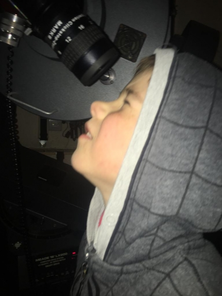 A Child from Sutton-at-Hone Enjoying Astronomy- parental Permissing given#7