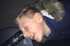 A Child from Sutton-at-Hone Enjoying Astronomy- parental Permissing given#9