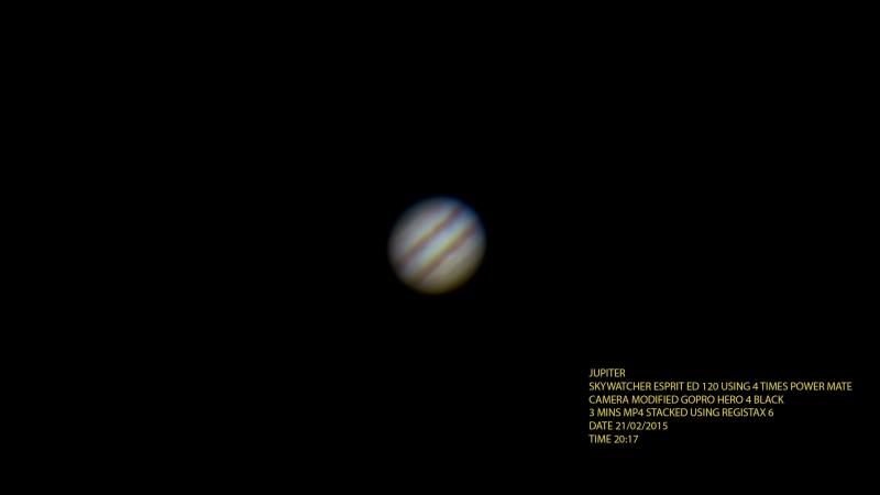 GC: Jupiter 2015-02-21