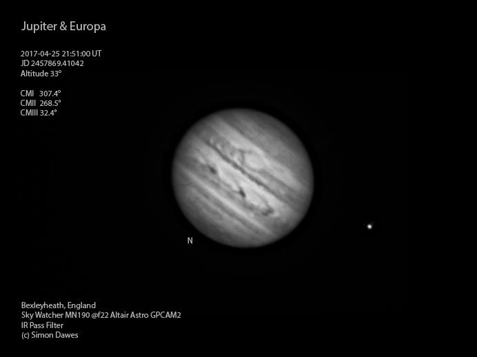 SD: Jupiter 2017-04-25 21:51UT