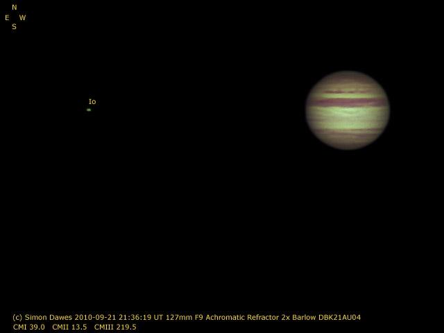 SD: Jupiter 2010-09-21 21:36UT