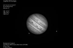 Jupiter 2017-04-25 21:51UT