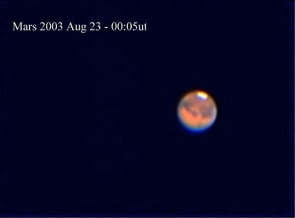 Mars 2003-08-23