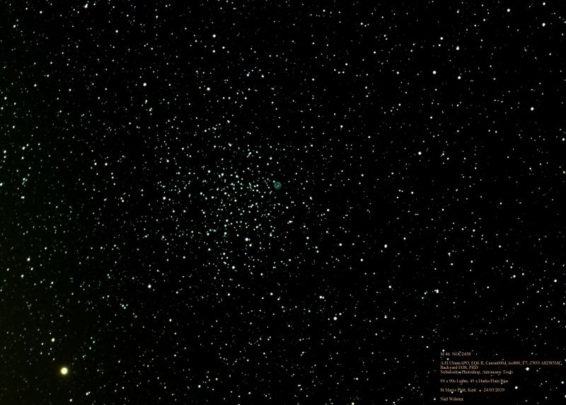 M46 NGC 2438