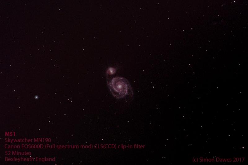 M51 52m Simon Dawes