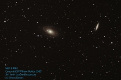 M81 and M81 SD 01