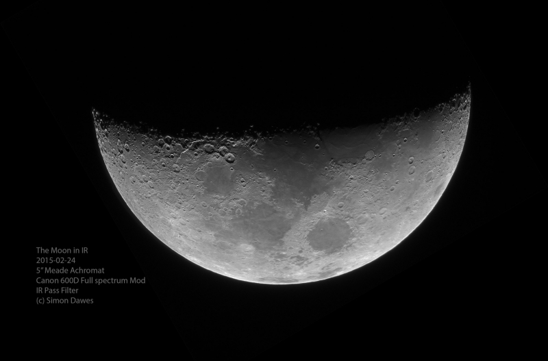 The moon in IR Simon Dawes 2015-02-24