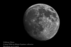 Gibbous moon MC