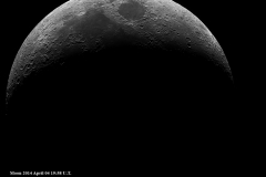 Crescent Moon Martin Crow 2014-04-14