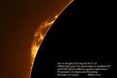 MC Sun 2015-08-09 10:17UT